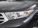 2011 Toyota Highlander Drivers Side Headlight