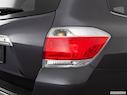 2011 Toyota Highlander Passenger Side Taillight