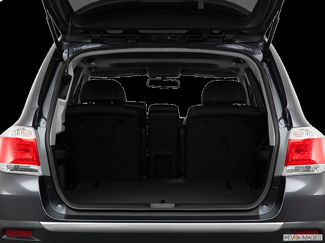2011 Toyota Highlander Trunk open