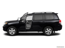 2011 Toyota Land Cruiser Driver's side profile with drivers side door open