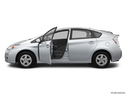 2011 Toyota Prius Driver's side profile with drivers side door open
