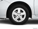 2011 Toyota Prius Front Drivers side wheel at profile