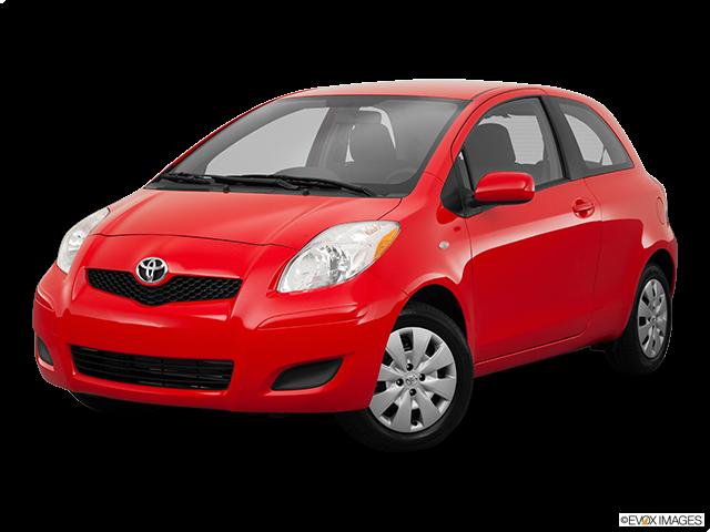 2011 Toyota Yaris Front angle medium view