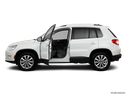 2011 Volkswagen Tiguan Driver's side profile with drivers side door open
