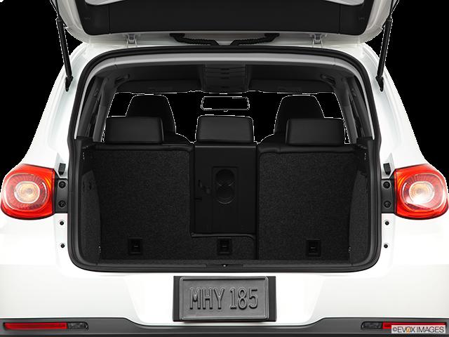 2011 Volkswagen Tiguan Trunk open