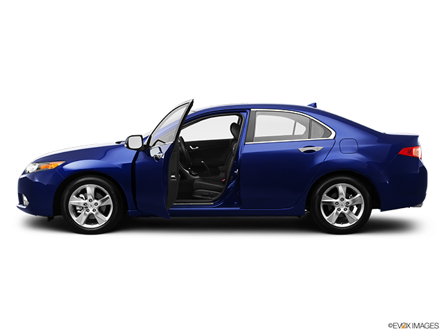 2012 Acura TSX Driver's side profile with drivers side door open
