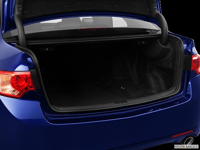 2012 Acura TSX Trunk open