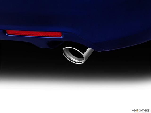 2012 Acura TSX Chrome tip exhaust pipe