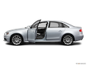 2012 Audi A4 Driver's side profile with drivers side door open