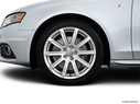 2012 Audi A4 Front Drivers side wheel at profile