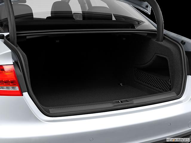 2012 Audi A4 Trunk open