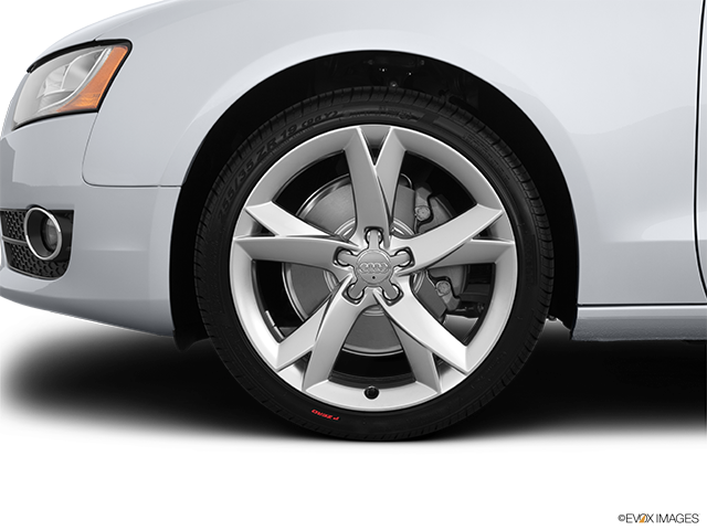 2012 Audi A5 Front Drivers side wheel at profile