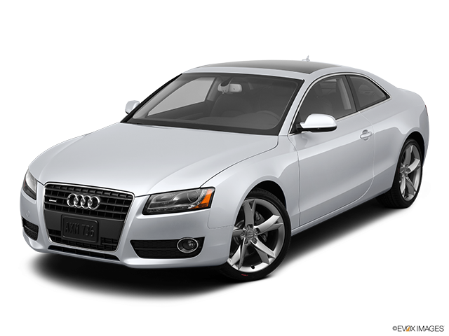 2012 Audi A5 Front angle view
