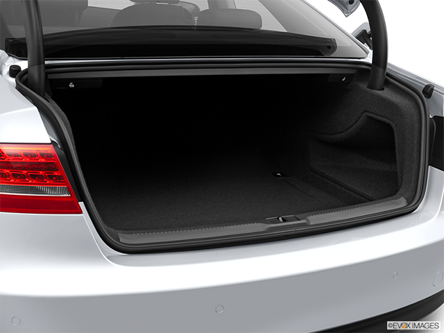 2012 Audi A5 Trunk open