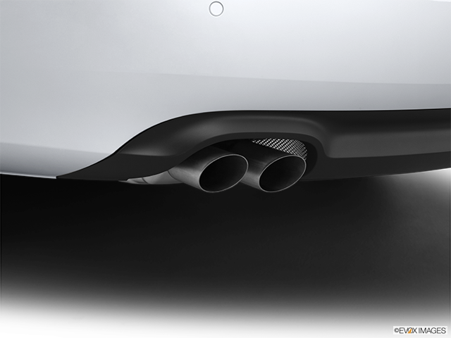 2012 Audi A5 Chrome tip exhaust pipe