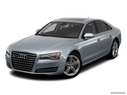 2012 Audi A8 Front angle view