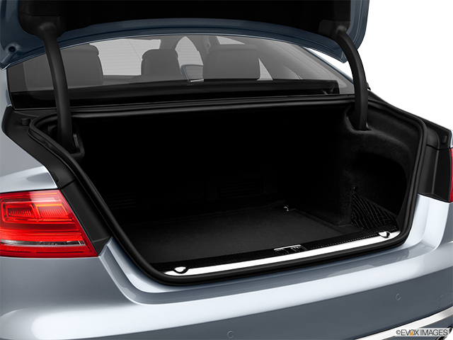 2012 Audi A8 Trunk open