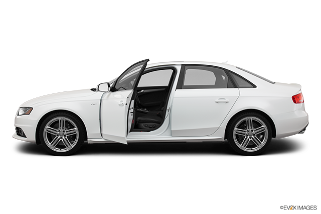 2012 Audi S4 Driver's side profile with drivers side door open