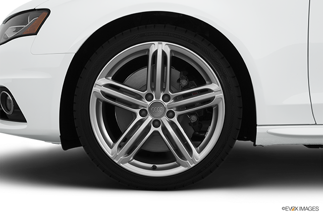 2012 Audi S4 Front Drivers side wheel at profile