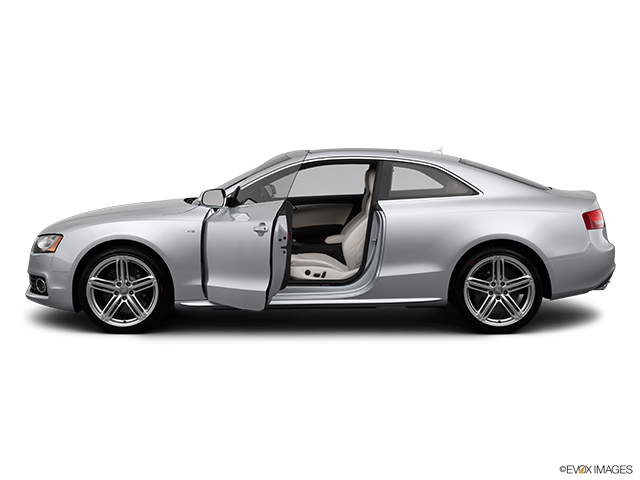2012 Audi S5 Driver's side profile with drivers side door open