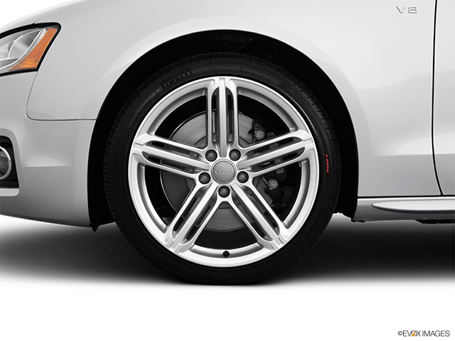 2012 Audi S5 Front Drivers side wheel at profile