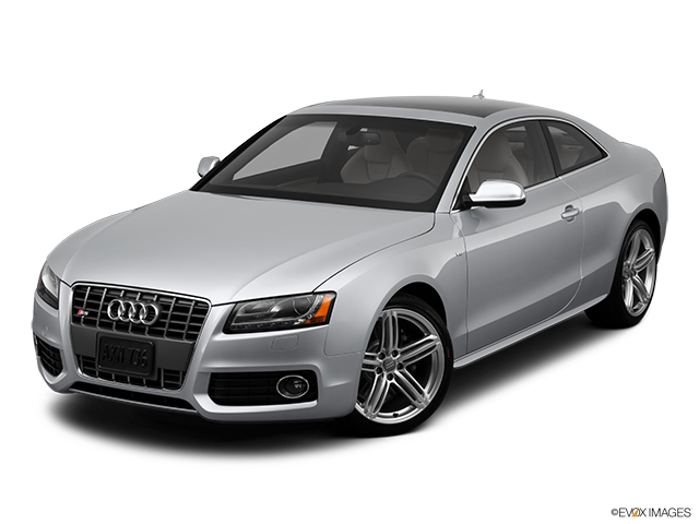 2012 Audi S5 Front angle view