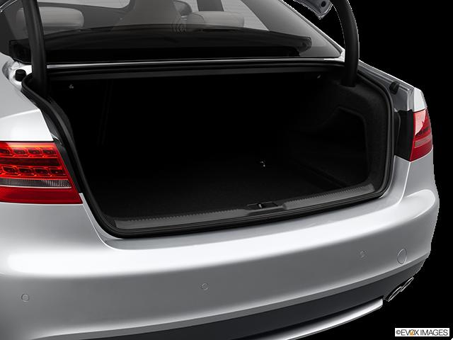 2012 Audi S5 Trunk open