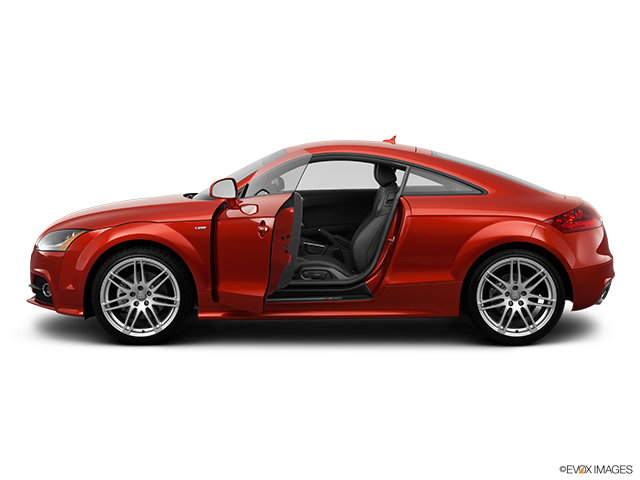 2012 Audi TTS Driver's side profile with drivers side door open