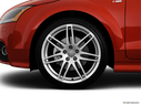 2012 Audi TTS Front Drivers side wheel at profile