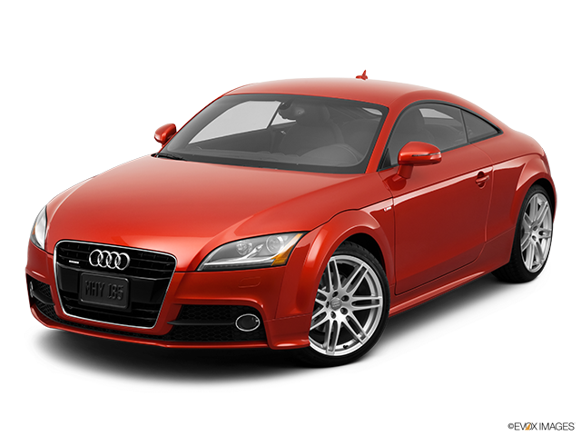 2012 Audi TTS Front angle view