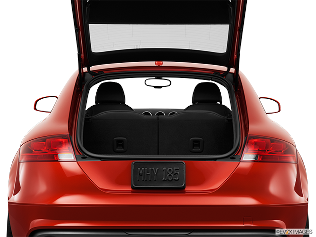 2012 Audi TTS Trunk open