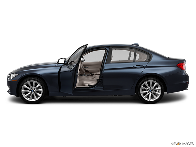 2012 BMW 3 Series Driver's side profile with drivers side door open