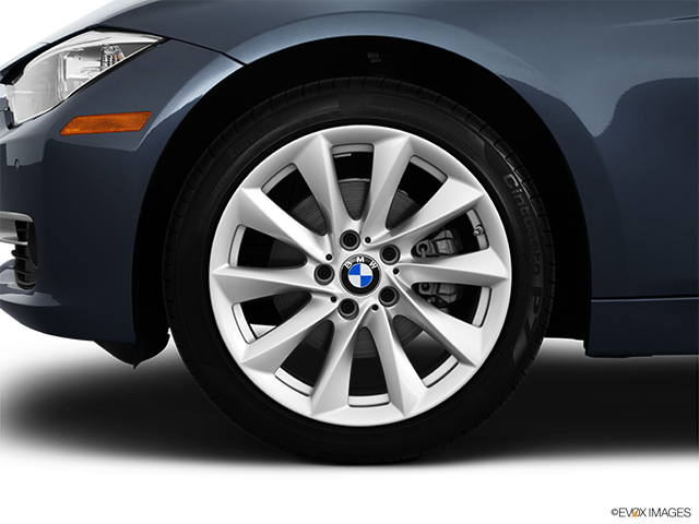 2012 BMW 3 Series Front Drivers side wheel at profile