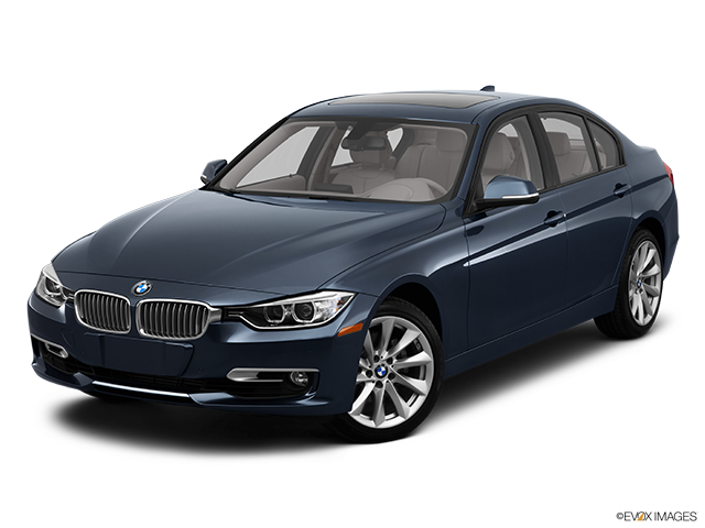 2012 BMW 3 Series Front angle view
