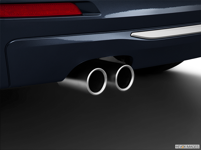2012 BMW 3 Series Chrome tip exhaust pipe