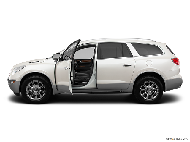 2012 Buick Enclave Driver's side profile with drivers side door open
