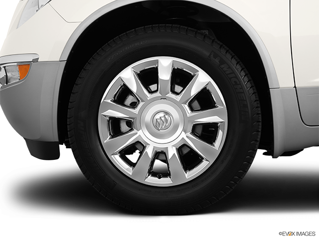 2012 Buick Enclave Front Drivers side wheel at profile