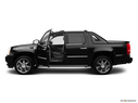 2012 Cadillac Escalade EXT Driver's side profile with drivers side door open