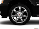 2012 Cadillac Escalade EXT Front Drivers side wheel at profile