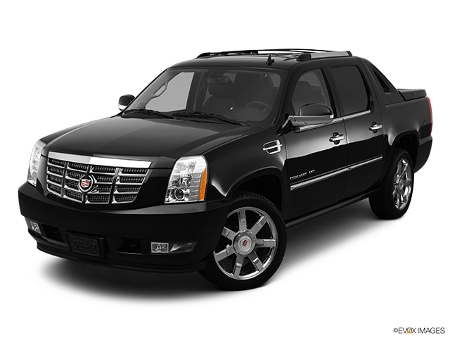 2012 Cadillac Escalade EXT Front angle view