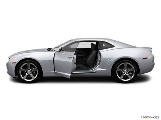 2012 Chevrolet Camaro Driver's side profile with drivers side door open