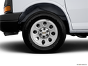 2012 Chevrolet Express Cargo Front Drivers side wheel at profile