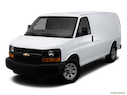 2012 Chevrolet Express Cargo Front angle view