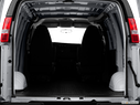 2012 Chevrolet Express Cargo Trunk open
