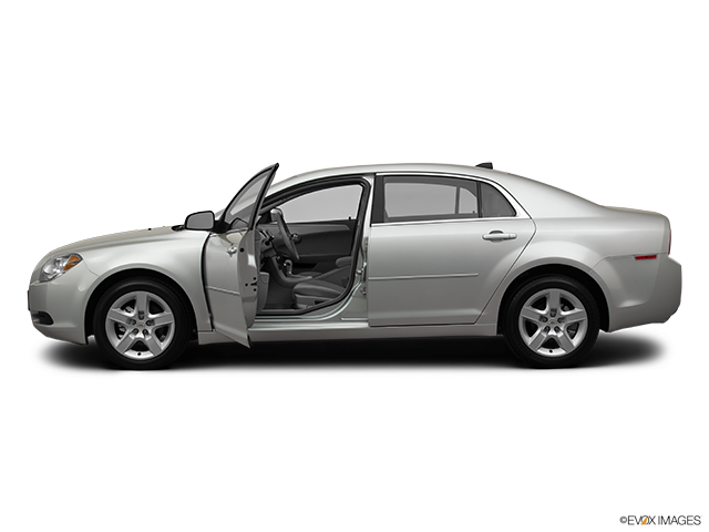 2012 Chevrolet Malibu Driver's side profile with drivers side door open