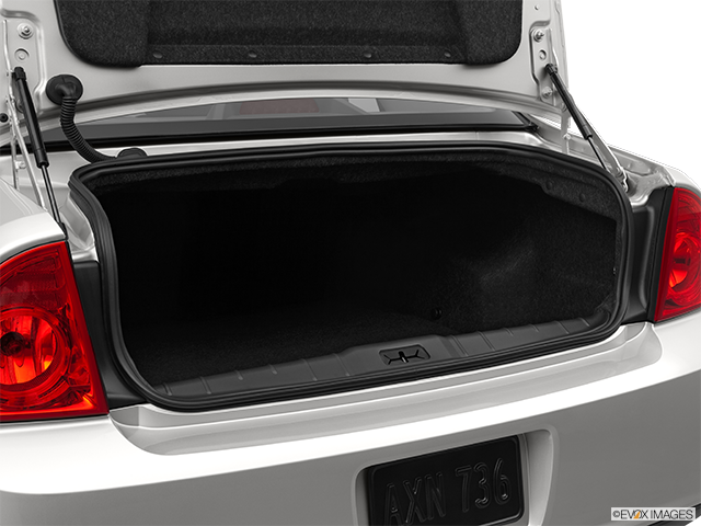 2012 Chevrolet Malibu Trunk open