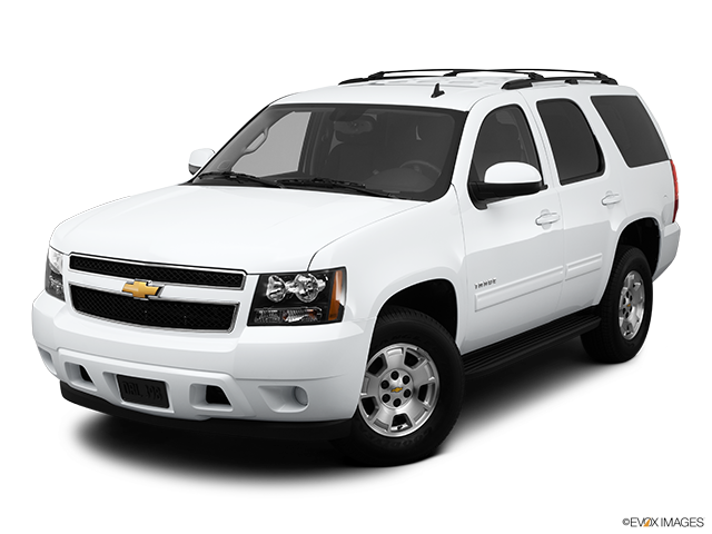 2012 Chevrolet Tahoe Front angle view