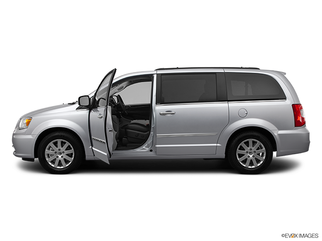 2012 Chrysler Town and Country Driver's side profile with drivers side door open