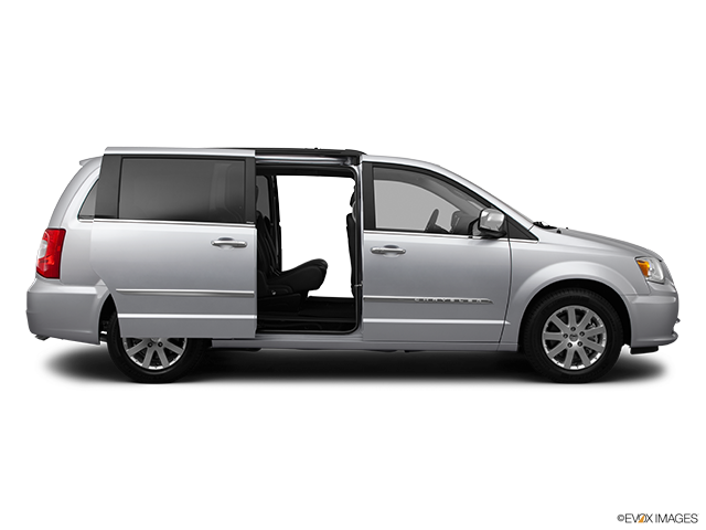 2012 Chrysler Town and Country Passenger's side view, sliding door open (vans only)