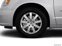 2012 Chrysler Town and Country Front Drivers side wheel at profile